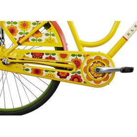 Electra Amsterdam Fashion 3i City Bike Women Ladies yellow/colourful